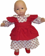 Baby Doll Clothes Dress and Pinafore