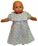 Baby Doll Clothing Green Pajamas