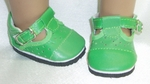 Baby Doll Green Shoes