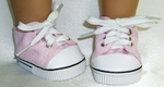 Baby Doll Pink High Top Sneaker