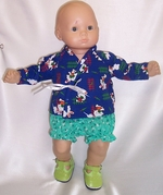 Baby Doll Sleepwear or Romping Outfit