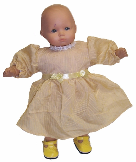Baby Dolls Yellow Fancy Dress