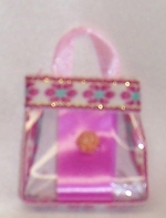 Barbie Doll Lavender Purse