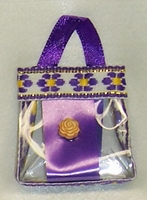Barbie Doll Purple Purse