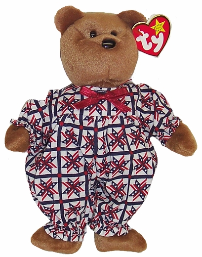 Beanie Baby Clothes Patriotic Jumpsuit