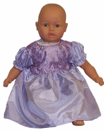 Big Baby Doll Clothes Lavender Party Dress