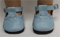 Bitty Baby Blue Mary Jane Shoes