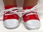Bitty Baby Doll Red Sneaker