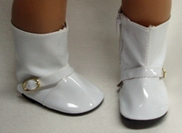 Bitty Baby Doll White Boots