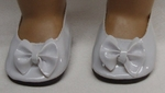 Bitty Baby Doll White Bow Shoes