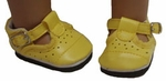 Bitty Baby Yellow Mary Jane Shoes