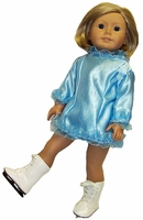Blue Ice Skating Outfit For American Girl Dolls
