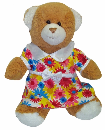 Brighten Your Stuffed Animals Day With A Colorful Dress