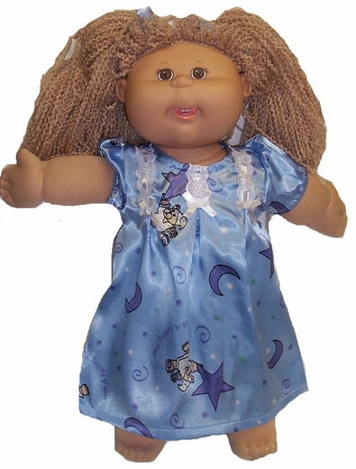 Cabbage Patch Kid Doll Beary Cute Nightgown