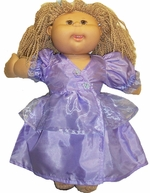 Cabbage Patch Kid Doll Lavender Wrap Dress