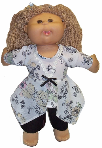 Cabbage Patch Kid Doll Shorts & Shirt