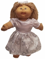 Cabbage Patch Kid Doll Wedding or Confirmation Dress