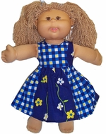 Cabbage Patch Kid Dress, Bright and Cute