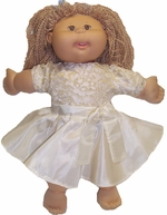 Cabbage Patch Kid Cream Party Dress
