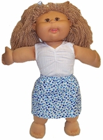 Cabbage Patch Kid Shorts & Singlet