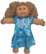 Cabbage Patch Kids Pretty Blue Nightgown