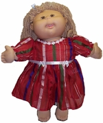Cabbage Patch Kids Red Stripe Dress