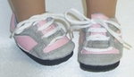 Doll Baby Pink & Grey Jogging Shoes