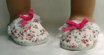 Doll Slippers for Bitty Baby