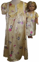 Dreamy Stars Moon Nightgown Size 6