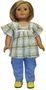 Girls Cargo Pants Size 7 With Doll Matching Set Available