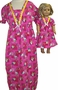 Girls Matching Dolls Hello Kitty Nightgown Size 6