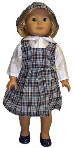 Going Back To School Dress For American Girl Dolls