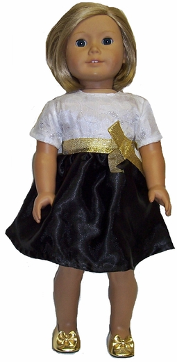Holiday Party Dress for 18 Inch Dolls