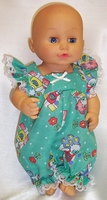 Little Baby Doll Green Romper