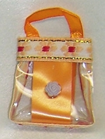 Orange Purse For Barbie Dolls