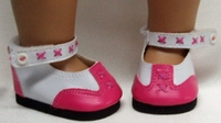 Pretty Pink Shoes for Bitty Baby Dolls