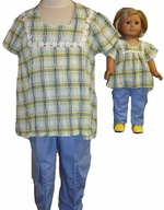Size 10 Cargo Pants For Girls Matching Doll Set Available