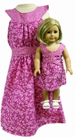 Size 10 Matching Girls & Dolls Dress