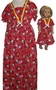 Size 12 Red Hello Kitty Nightgown With Doll Matching nightgown available