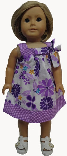 Size 16 Girl Dress & Matching Doll Dress Available