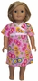 Size 4 Matching Girls And Doll Nightgown