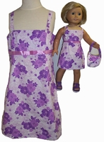 Size 6 Sundress and Matching Doll Sundress on Sale