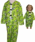 Size 8 Girl Pajamas with Matching Doll Pajamas Available