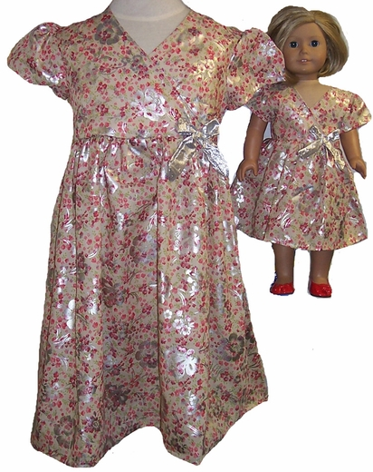 Size & Rose Dress Matching Doll Dress Available