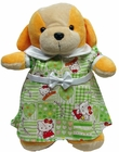 Stuffed Animal Green Hello Kitty Dress