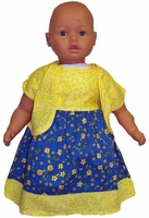 Sunshine Yellow For Big Baby Dolls