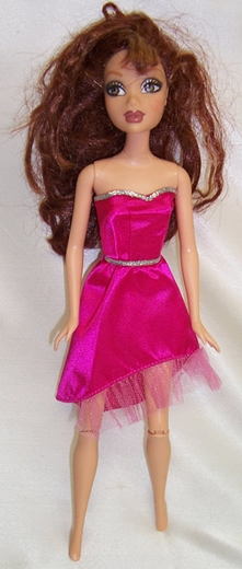 Thin Barbie Doll Dress