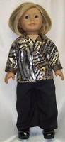 Tiger Print Jacket Doll Clothes For 18 Inch Dolls