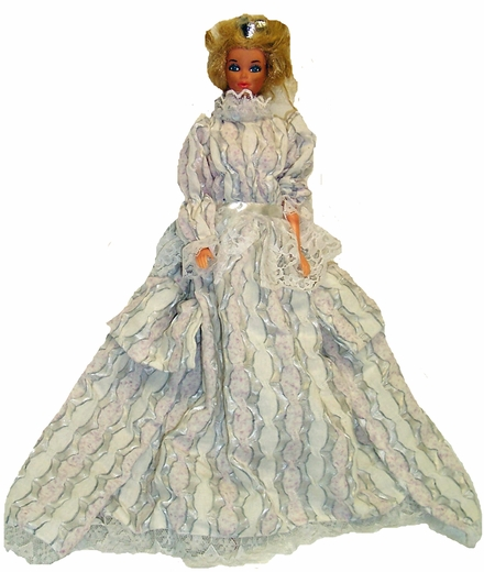 Victorian Dress For Barbie Dolls
