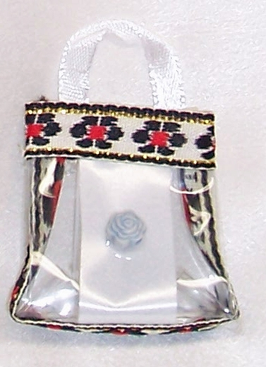 White Purse For Barbie Dolls & Fashion Dolls